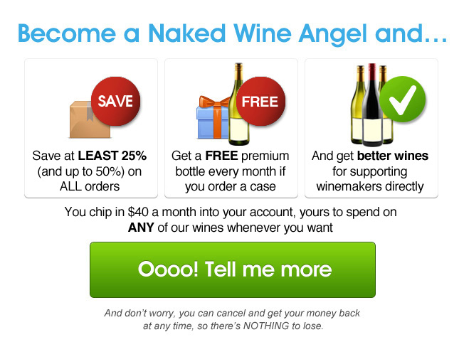 Become a Naked Wine Angel..