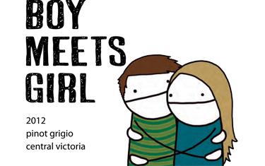Boy Meets Girl Pinot Grigio 2012