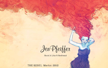 Jen Pfeiffer The Rebel Merlot 2012