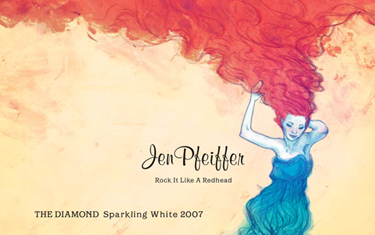Jen Pfeiffer The Diamond Sparkling 2007