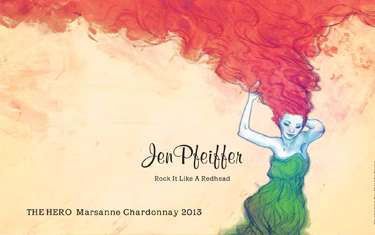 Jen Pfeiffer The Hero Marsanne Chardonnay 2013