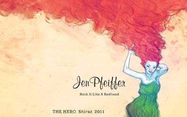 Jen Pfeiffer The Hero Shiraz 2011