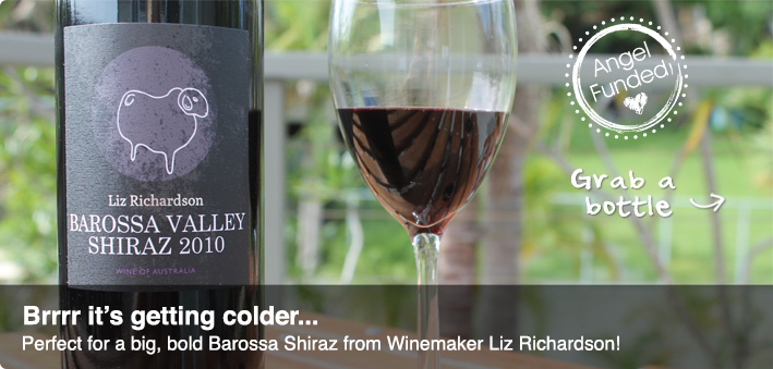Liz Richardson Barossa Shiraz 2010 - Our first Barossa red
