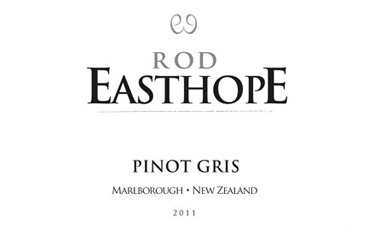 Rod Easthope Marlborough Pinot Gris 2011
