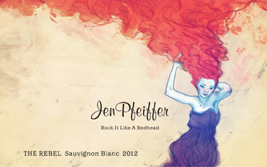 Jen Pfeiffer The Rebel Sauvignon Blanc 2012
