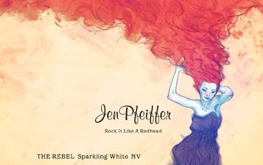 Jen Pfeiffer The Rebel Sparkling NV