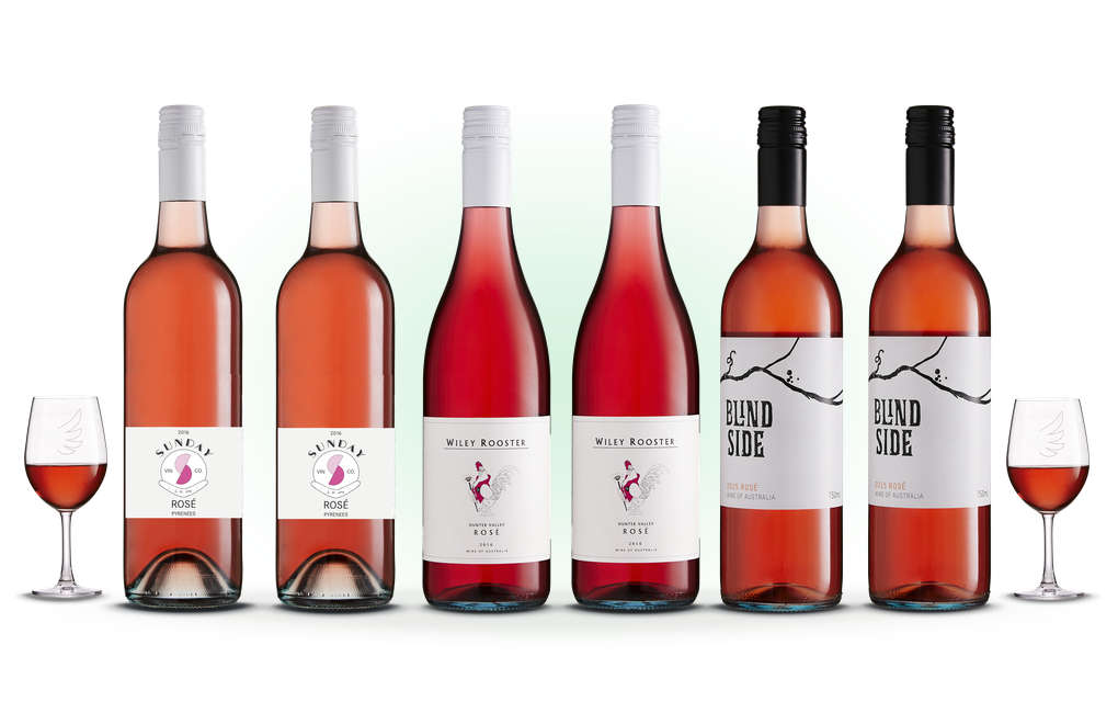 The Rosé Expert six pack