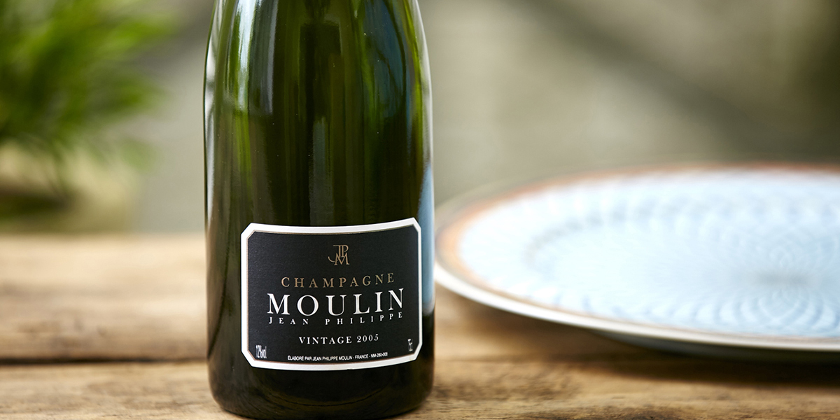 Champagne Wine - Jean Philippe Moulin Vintage Champagne 2005 from Naked Wines