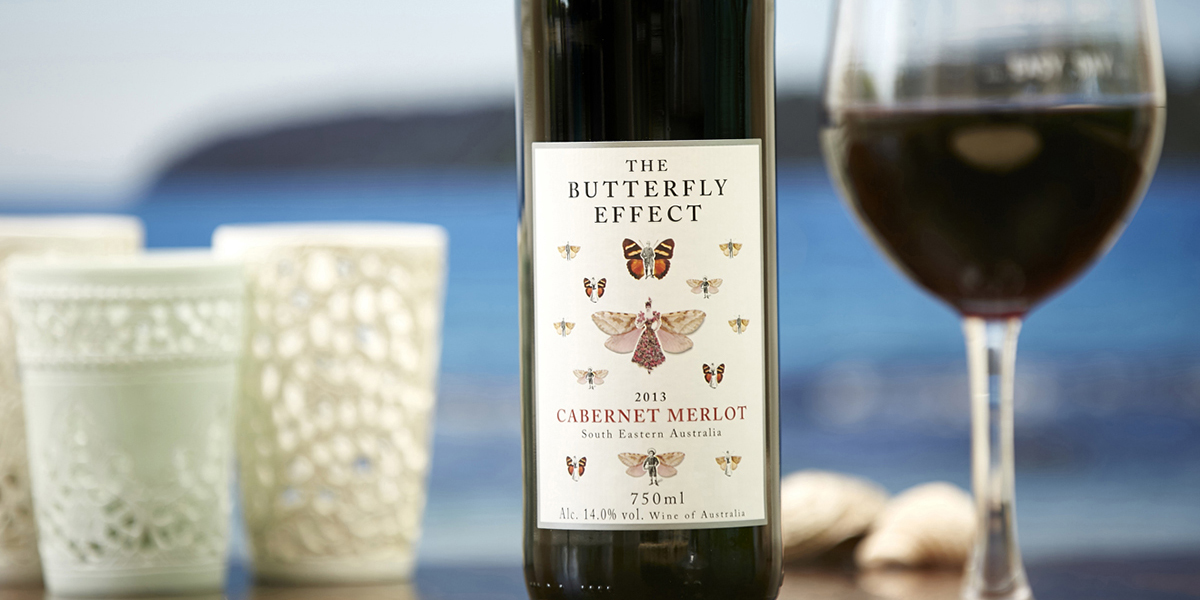 Red Wine - Sam Plunkett The Butterfly Effect Cabernet Merlot 2013 from Naked Wines
